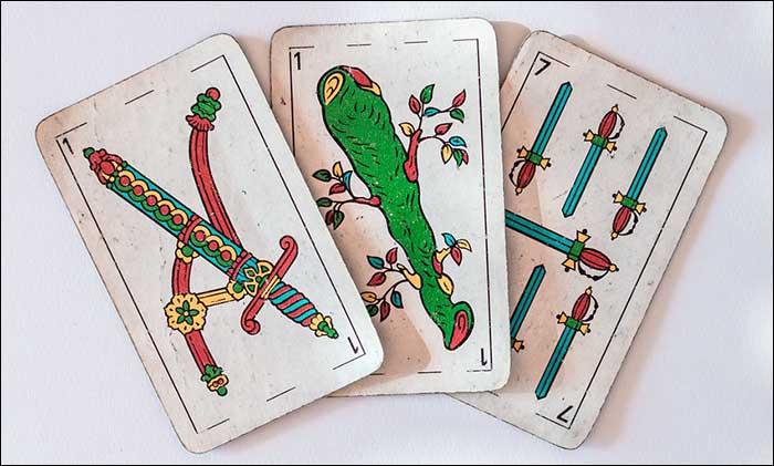 tirada de cartas españolas gratis